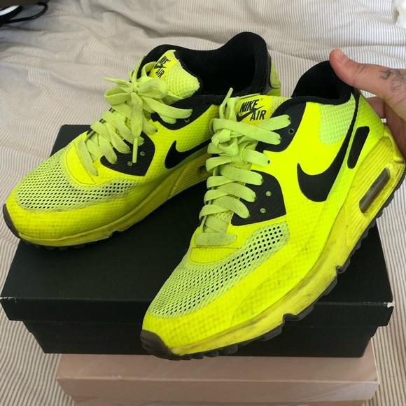 Nike Shoes - Nike Airmax 90s Neon Green